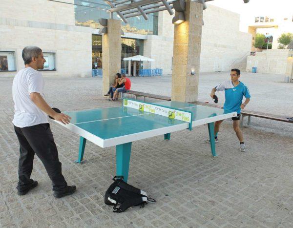 שולחן פינג פונג לחצר בית ספר