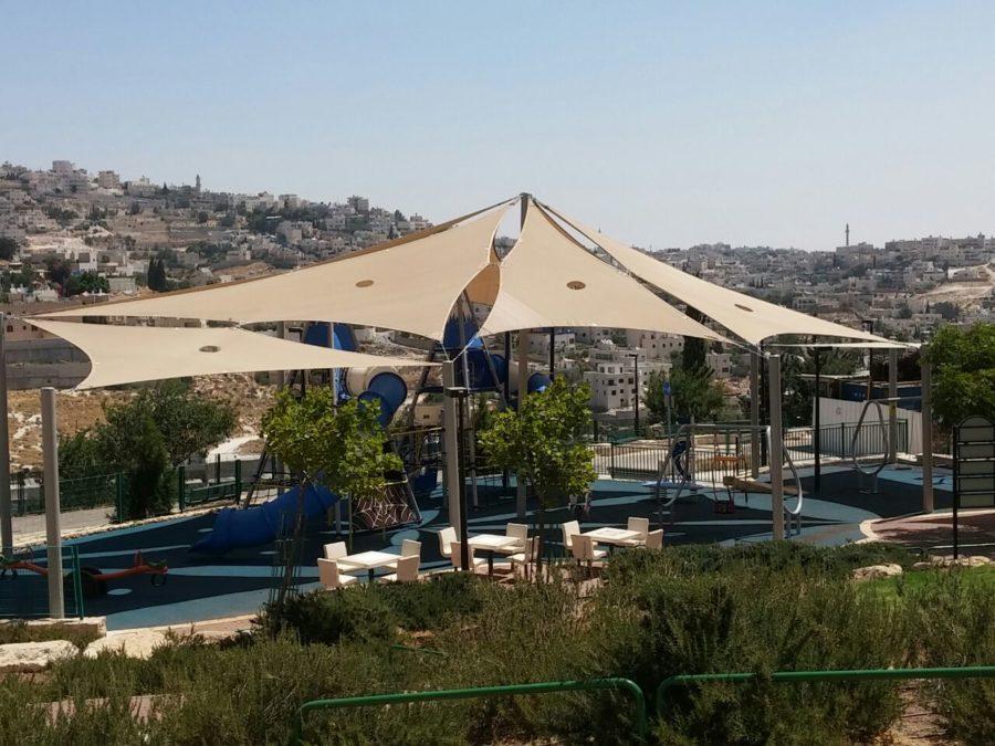הצללת מפרשים  בחיפה