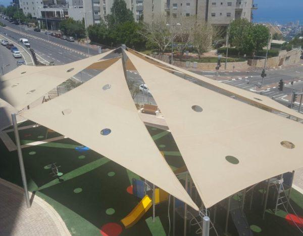 הצללת מפרשים – חיפה