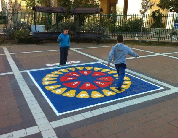 משחקי רצפה לחצר בית הספר