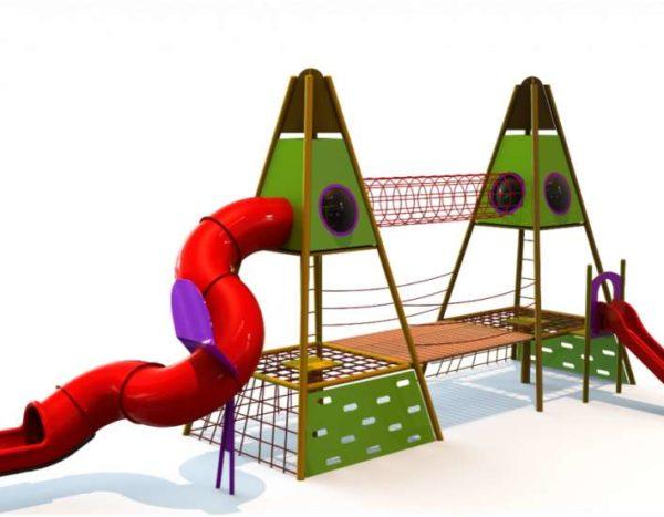 מתקן משולב דגם חרמון 2 מגדלים