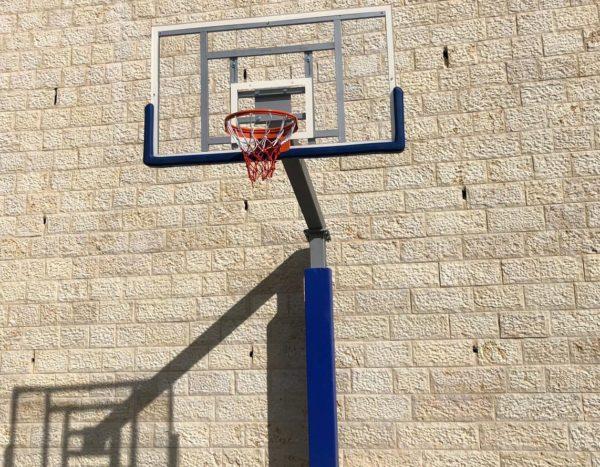 עמוד כדורסל תו תקן ישראלי-  גבעת התמר אפרת