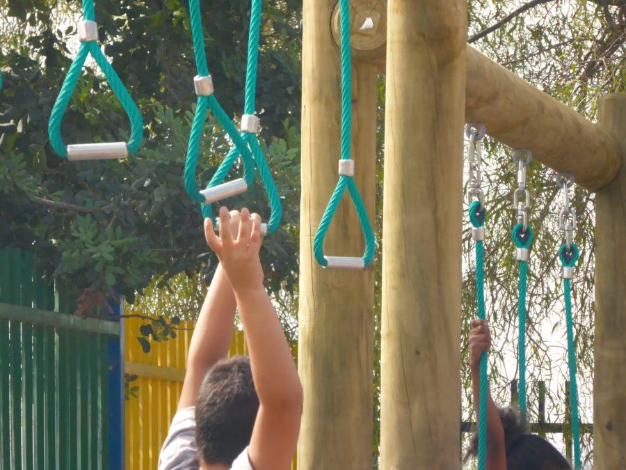 מסלול נינג'ה בחצר  בית הספר