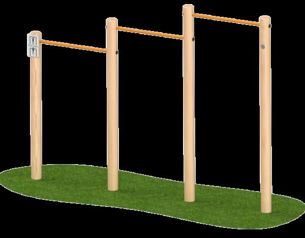 מתקני ספורט לבית ספר-מתח  3 גבהים