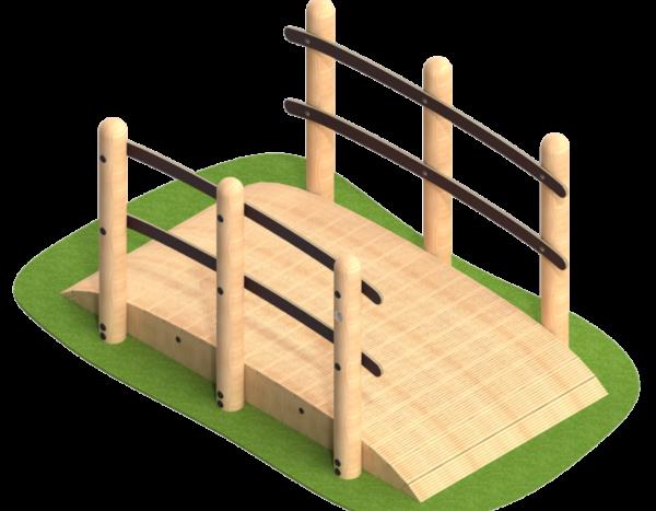 גשר עץ לפעוטות