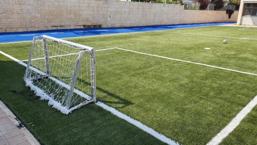 מגרש כדורגל לחצר בית ספר