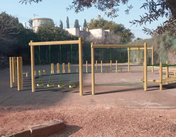 מסלול נינג'ה מאתגר וספורטיבי  למרחב הציבורי ומוסדות חינוך