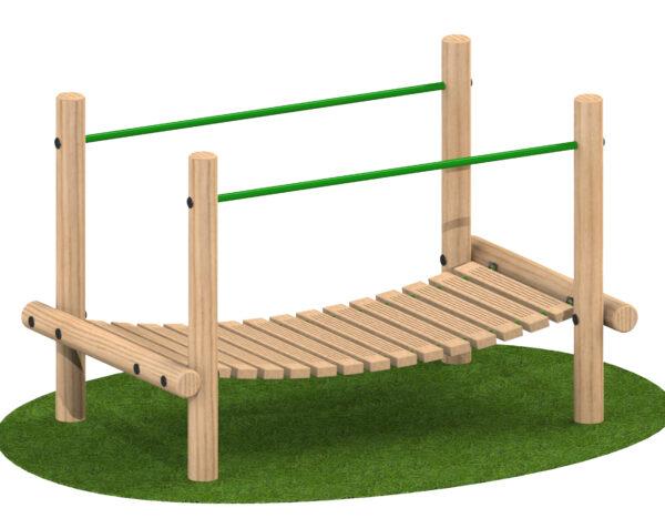 גשר עץ תלוי