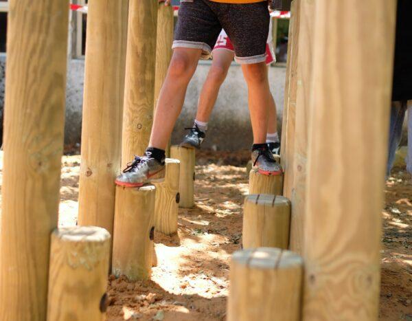 מסלול נינגה -בית ספר עמיחי קבוצת יבנה (צפה בסרטון)