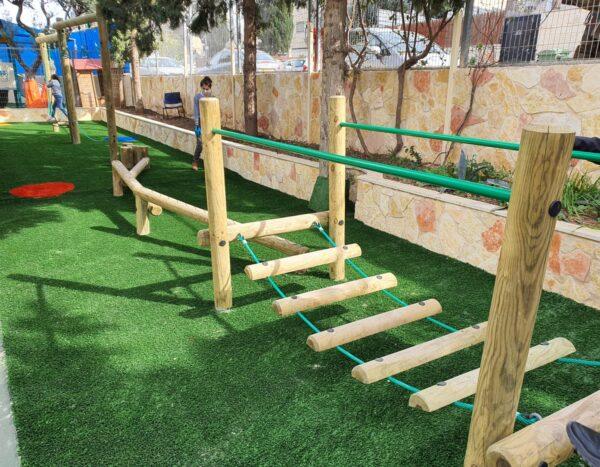 מסלול נינג'ה בית ספר יסודי בחיפה – מצורף סרטון