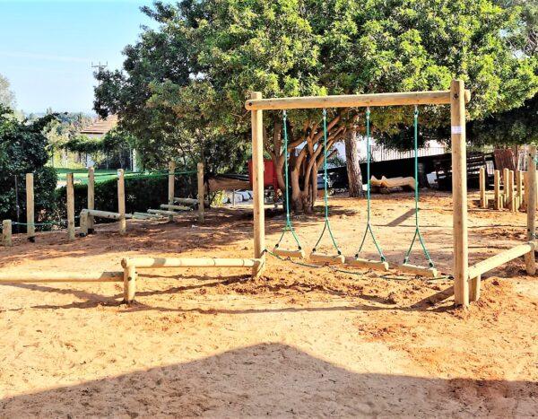 מתקני ספורט ונינג'ה- בבית ספר חובב –   בני ציון